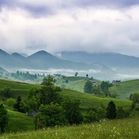 Mountain landscape by Kati Raileanu - Landscapes Mountains & Hills