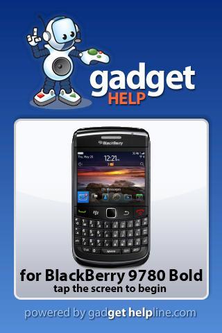 BlackBerry 9780 Bold Gadget He