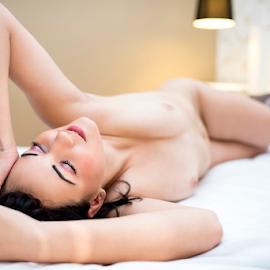 ... dreams.. by Bogdan T. Fotografie - Nudes & Boudoir Boudoir ( erotic, glamour, body, nude, bed, woman, boudoir, hot )