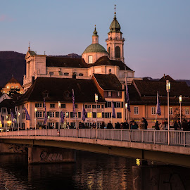 Christmas Mood in Solothurn by Augustin Anic - City,  Street & Park  Historic Districts
