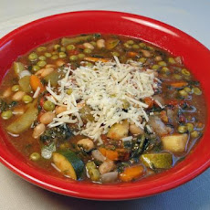 Pesto Vegetable Soup (Crock Pot)