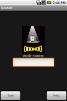 Screenshot of DoonDo - Mobile Tracker
