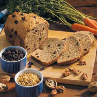 Carrot Raisin Bread