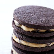 Homemade Cookie Dough Oreos