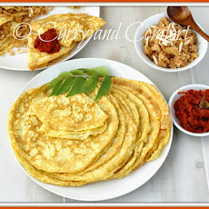 Coconut Crepes with Ceylon Pure Organic Coconut Products