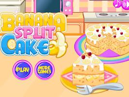 Screenshot of Cooking banana split cake