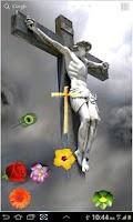 Screenshot of Jesus Love Live Wallpaper Free
