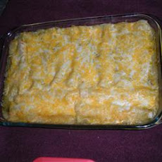 Jalapeno Cream Cheese Chicken Enchiladas