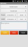 Screenshot of Paymo Time Tracker