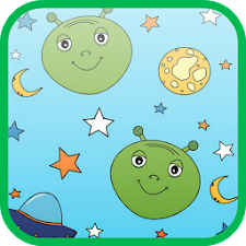 Cute Alien Slide Puzzle