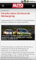 Screenshot of Autoesporte News Mobile