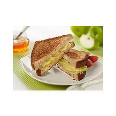 Gruyere Grilled Cheese With Apple Salad Recipe — Dishmaps