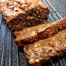 Zucchini Banana Oat Bread (Low(Er) Carb)