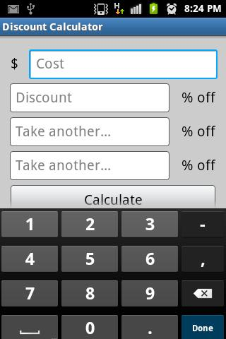 【免費購物App】Multiple Discount Calculator-APP點子