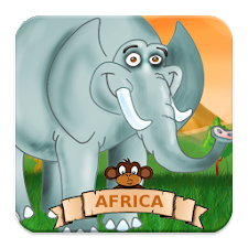 Kids Puzzle Game - Africa