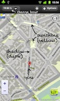 Screenshot of Urban Sunshine Maps