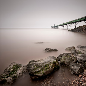 Clevedon Pier by Nick Holland - Landscapes Waterscapes