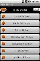 Screenshot of Kisah-Kisah Teladan