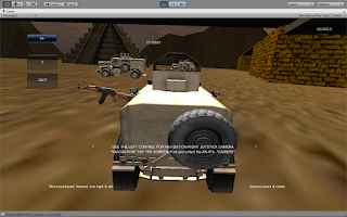 Screenshot of Middle East Race