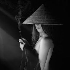 by Ionel Onofras - Nudes & Boudoir Boudoir ( fineart, young girl, conceptual, nudes, asian girl )