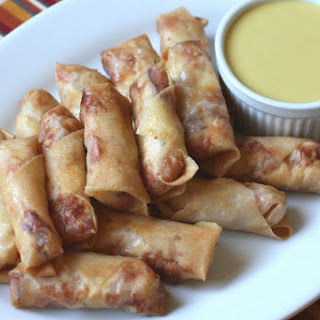 Chicken Cordon Bleu Eggrolls