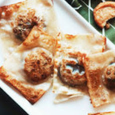 Pan-Fried Queso Fundido Dumplings