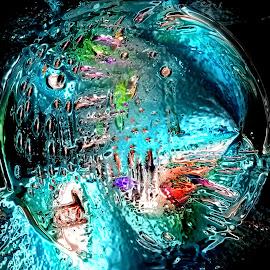 Dance floor by Roy Branford - Digital Art Abstract ( abstract, digital art, artistic, colorfull, globe, photoshop )