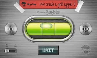 Screenshot of Power Bubble - spirit level