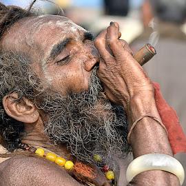 by Rajib Kumar Bhattacharya - People Portraits of Men