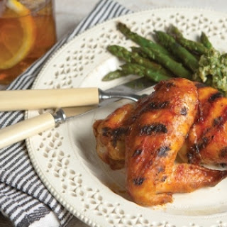 Grilled Chicken with Buffalo Barbecue Sauce
