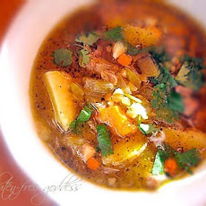 New Mexican Stew Recipe with Ground Turkey and Green Chiles