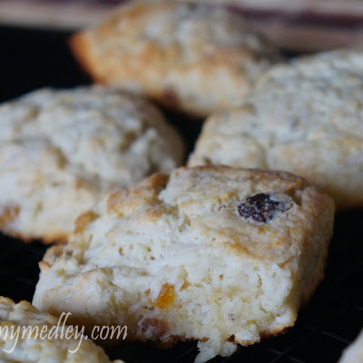 Fruited Scones and Steve's Clotted Cream