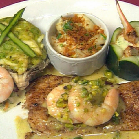 ... Fish with Shrimp and Jalapeno-smoked Corn Beurre Blanc Recipe | Yummly