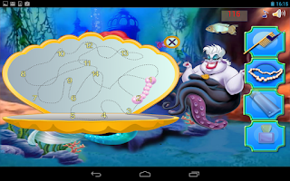 Screenshot of Mermaid Princess Salon