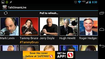 Screenshot of Talk Stream Live