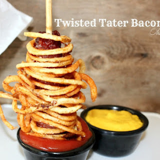 ~Twisted Tater Bacon Dogs!