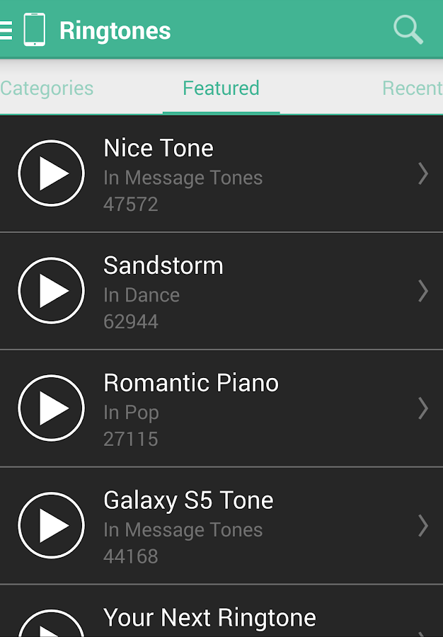 MTP Ringtones & Wallpapers Screenshot 1