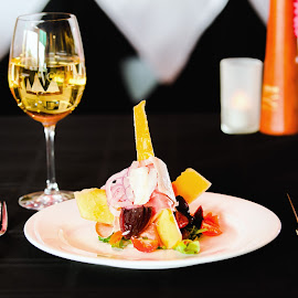 Prosciutto melon  by Manny Herreria - Food & Drink Fruits & Vegetables ( #orange, #meal, #salad, #food, #drink )