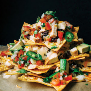 Chicken Nachos With Refried Beans Recipes
