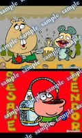 Screenshot of Daily Cartoon002 LWP & Clock