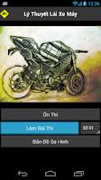 Screenshot of 150 Câu Lý Thuyết Lái Xe Máy