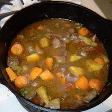 Easy Farmhouse Lamb Stew With Vegetables
