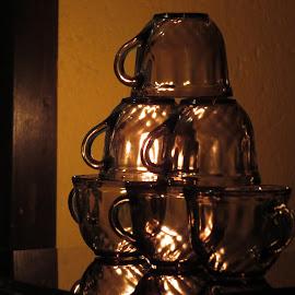 by Raj Sarkar - Artistic Objects Cups, Plates & Utensils