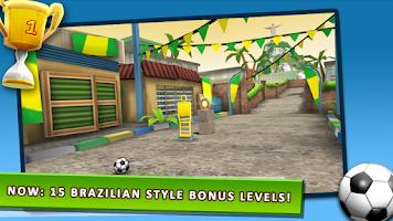 Screenshot of Kick The Ball Brazil 2014 FREE