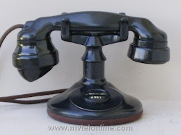 Cradle Phones - Western Electric A1  6 1