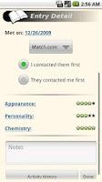 Screenshot of aBlackBook