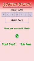 Screenshot of Word Addiction!