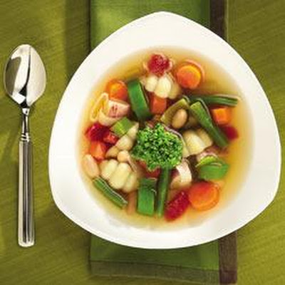 French Vegetable Soup with Pistou