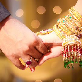 Wont let you go by Icyy Himi - Wedding Details ( colorful, jewellery, hands, bride, groom )