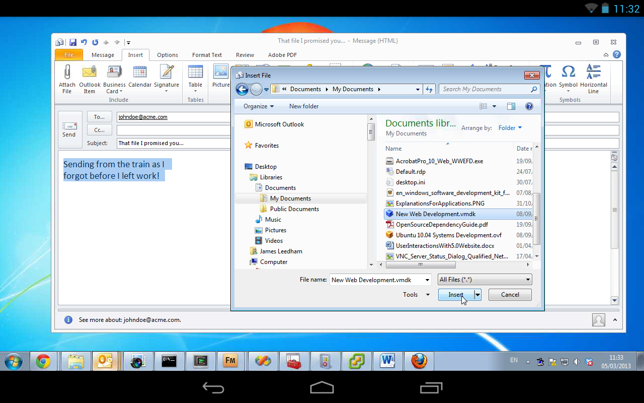 VNC Viewer Screenshot 11